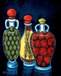 Fancy Oils I (Will Rafuse)