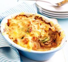 Tuna potato bake | Healthy Food Guide - a delicious gluten free meal the whole family will love.