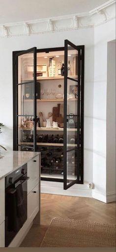 Apartment Kitchen, Home Decor Kitchen, Kitchen Interior, Diy Home Decor, Home Room Design, Home Interior Design, House Design, Terrace House Exterior, Bathroom Design Luxury