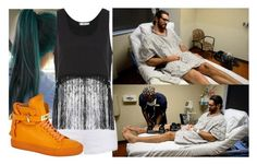 """""""Visiting Seth after his surgery!!!!!"""" by carmellahowyoudoin ❤ liked on Polyvore featuring Ally Fashion, MINKPINK, BUSCEMI, WWE and sethrollins"""