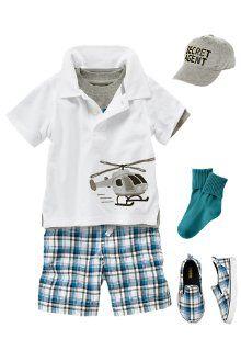 I <3 Gymboree's little boy clothes!