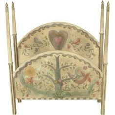 Sticks Queen Bed with Tall Milled Posts and 3D Carved Elements BED020-D06857, Artistic Artisan Designer Beds