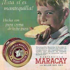 Publicidad de Mantequilla Maracay. 1960.                                 22387_10152708284631682_6336129473218378395_n.jpg (449×449)