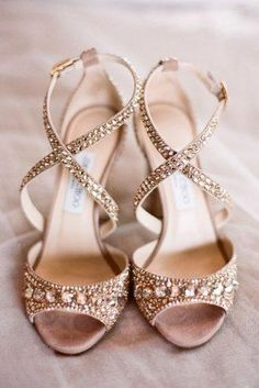 Comfortable Wedding Shoes That Are Oh-So-Stylish ★ comfortable wedding shoes spafkle nude gold jimmy choo