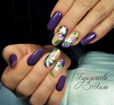 50 New Ideas French Manicure Summer Purple Fancy Nails, Cute Nails, Pretty Nails, Diy Pedicure, Pedicure Designs, Accent Nail Designs, Nail Art Designs, Nail Manicure, Gel Nails