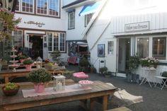 Bakgården cafe  Sandefjord Norway