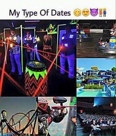 My type of dates