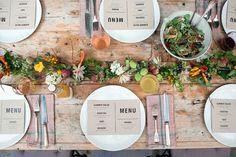 Ideas para decorar mesas de otoño