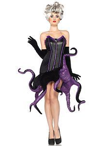 You'll look like Disney Ursula !..Love This Halloween... Leg Avenue New Halloween Disney Ursula Adult Costume