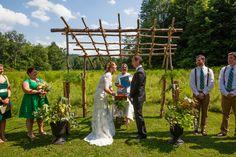The Ceremony Site, Lareau Farm Inn, Waitsfield, VT.