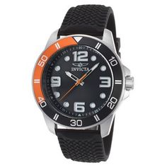 Image for Men's Pro Diver Black Polyurethane and Dial Orange Accent from World of Watches Man Images, Watch Model, Casual Watches, Casio Watch, Omega Watch, Gentleman, Quartz, Stainless Steel, Accessories