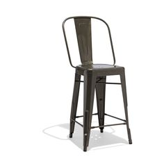 Marais+A+Counter+Stool — It's hip to be a square: If the Marais A Chair and the High Back Stool had a baby, it would probably look just like this.