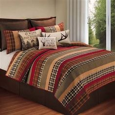king size quilt striped - Google Search
