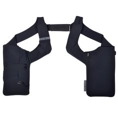 The URBAN TOOL tabletHolster is a double sided shoulder holster with a 7'' tablet sized compartment. Price: € 129.90 / $ 159.90, Key Facts: 7´´ tablet compartment size 16 x 23 x 1cm, pocket with cable opening, two upper slots for cards or gadgets, two 5´´compartments, 1 roomy wallet pocket, 2 pen slots, key pocket with keyjojo, 2 backside zippper pockets for credit cards, passport, etc