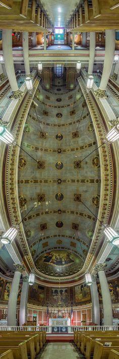 Imagen 11 de 15 de la galería de Los impresionante panoramas verticales de Richard Silver de iglesias de Nueva York. Vincent de St. Paul. Imagen © Richard Silver Photo