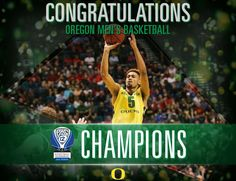 Pac-12 conference and tournament champions!