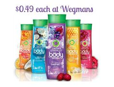 Herbal Essences Body Wash Only $0.49 at Wegmans! - http://www.livingrichwithcoupons.com/2014/05/new-11-herbal-essence-body-wash-coupon-1-49-shoprite.html