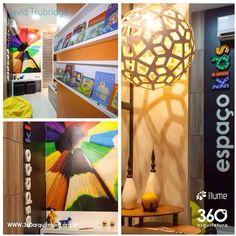 Luminária Pendente Coral.  360 Arquitetura em projetos de muito bom gosto, junto com a Della's Iluminação.  David Trubridge Brasil, distribuído pela Mais Lume.Maislume@gmail.com www.maislume.com