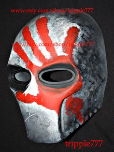 Army of two mask Paintball airsoft mask Halloween by tripple777