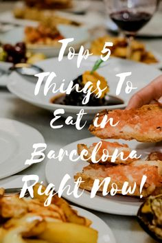 If you're around for the winter months, don't miss out on these delicious things to eat in Barcelona right now, from seasonal dishes to latest trends! Spanish Cuisine, Spanish Food, Barcelona Travel, Eat Right, Spain Travel, Taste Buds, Foodie Travel, Street Food, Tapas