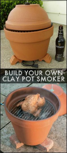 Enjoy Outdoor Cooking by Building Your Own Clay Pot Smoker