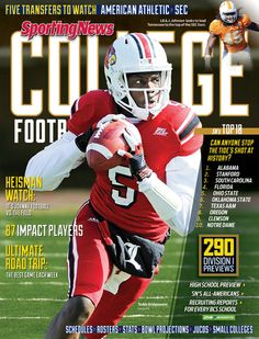 Teddy Bridgewater Makes Sporting News Cover Teddy Bridgewater, University Of Louisville, My Teddy Bear, Louisville Cardinals, Cincinnati Reds, College Football, Role Models, Football Helmets, Alabama