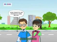 how to teach transitive and intransitive verbs