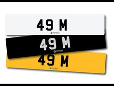 Number plate 49 M with retention certificate. / MAD on Collections - Browse and find over 10,000 categories of collectables from around the world - antiques, stamps, coins, memorabilia, art, bottles, jewellery, furniture, medals, toys and more at madoncollections.com. Free to view - Free to Register - Visit today. #Cars #NumberPlates #MADonCollections #MADonC