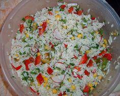 Chefkoch.de Rezept: Reissalat ohne Mayonnaise