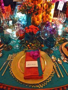 Lee Cavanaugh for Cullman & Kravis at the New York Botanical Garden Orchid Dinner