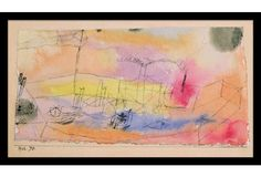Paul Klee, The Fish in the Harbour