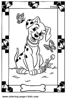 247 Best 101 Dalmations coloring pages images in 2019