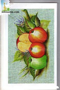 Moldes de frutas para pintar en tela ~ Solountip.com