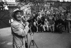 Rene Burri es uno de los grandes de la historia de la Fotografía y autor de algunos de los retratos más conocidos de todos los tiempos.
