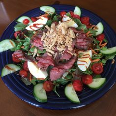 BBQ Beef Salad - Catering by Debbi Covington - Beaufort, SC