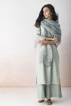ALAIA A lyrical collection of summer wear in chanderi and cotton with floral handblock prints.