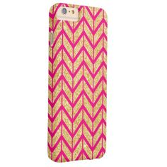 It's a cool iPhone 6 Case! This Coral White Unique Zigzag Chevron Pattern Girly iPhone 6 Plus Case is ready to be personalized or purchased as is. Sparkly Phone Cases, Glitter Iphone 6 Case, Cool Iphone 6 Cases, Iphone 6 Plus Case, Iphone 8, Chevron, Girly, Gold Sparkle, 6s Plus