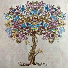 445 Best Coloring Johanna Basford Secret Garden Images On Pinterest
