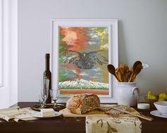 40×60 Tuval Üzeri Yağlı Boya Korku