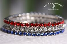 Touchstone Crystal Red White Blue - Everyday Snapshot