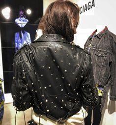 from Czech Republic, IG: kvrolinv, barborajiraskova Fashion 2018, Fashion Addict, Outfit Of The Day, Fashion Backpack, Black Leather, Leather Jacket, Street Style, Stylish, Lady