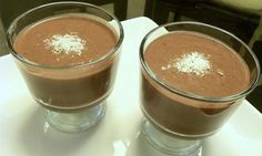 """Dairy free chocolate """"pudding"""". Made this and it was really easy and Shawn even liked it :-) tastes like chocolate covered Bananas."""