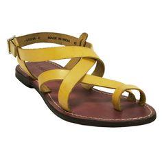 Chinese Laundry Aasha Leather Toe Loop flat Sandal #VonMaur