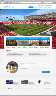 Sedasport Seating - homepage