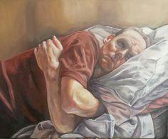 Julian - oil on canvas #painting #art #portrait www.pastelesta.co.uk
