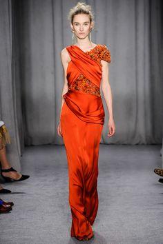 "thetentsofbryantpark: "" Marchesa at New York Fashion Week Fall 2014 """