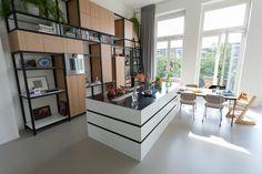 Custom kitchen and cupboard by Tieme Rietveld