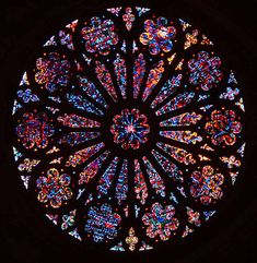 Stained glass window in the National Cathedral. Stained Glass Rose, Stained Glass Church, Stained Glass Windows, Church Windows, Cathedral Windows, Mandala, Rose Window, Gothic Architecture, Gothic Art