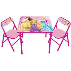 Disney Primary Color: Pink Multi Pack Indicator: No Battery Type: Does Not Contain a Battery Model No.:64843 Shipping Weight (in pounds): 16.7 Product in Inches (L x W x H): 24.0 x 24.0 x 20.0 Walmart No.:551360267 Princess Timeless Elegance Activity Table Set