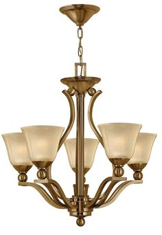 View the Hinkley Lighting H4655 Bolla 5 Light 1 Tier Chandelier at LightingDirect.com.